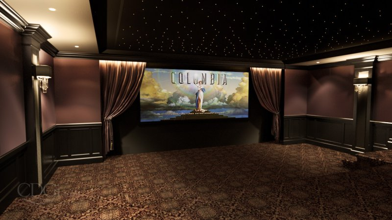 premier custom home theaters cinema design group