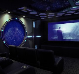Sci Fi Home Theater Is Portal To Another World Part 98