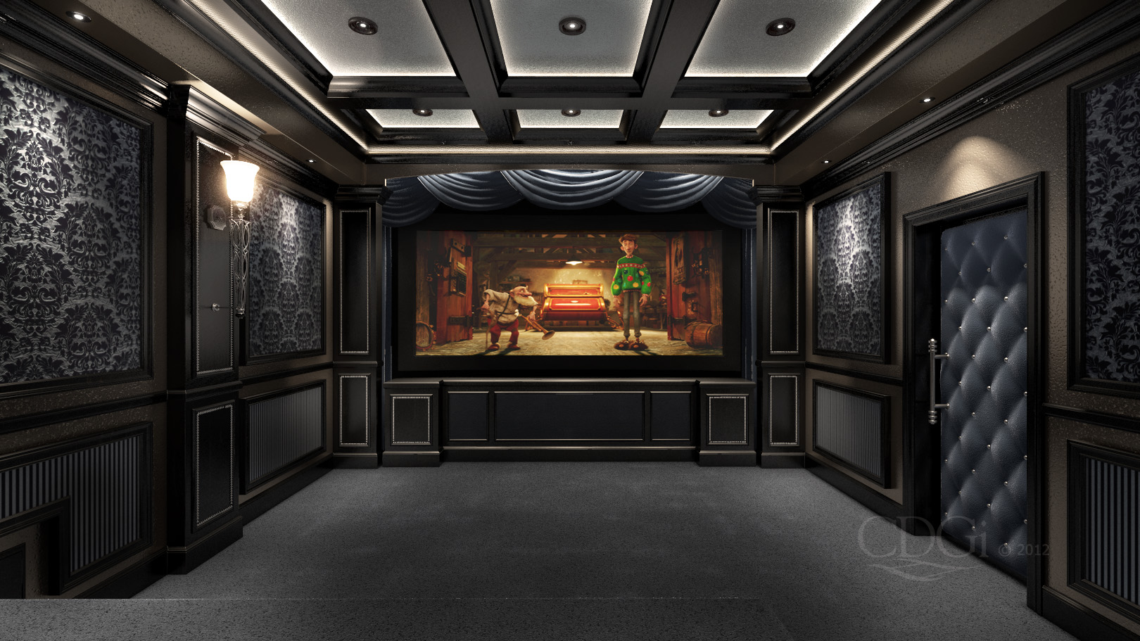 Custom Theater Seating