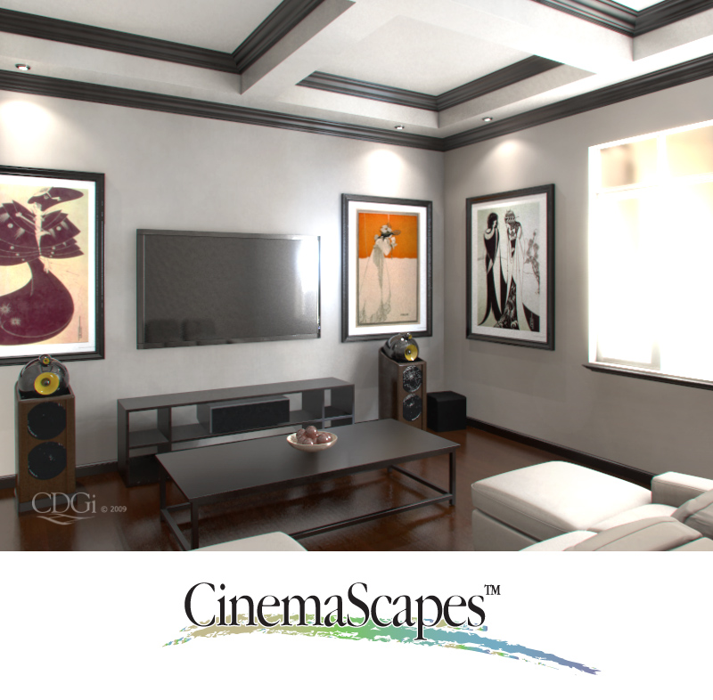 cinemascapes cinema design group. Black Bedroom Furniture Sets. Home Design Ideas